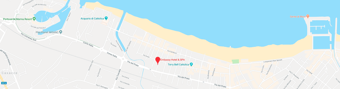 Come raggiungere l'Hotel Embassy